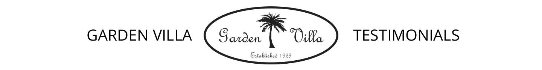 Garden Villa Event Packages